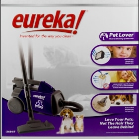 Eureka Mighty Mite Pet Lover 3684F box