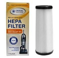dyson how to clean hepa filter cannister