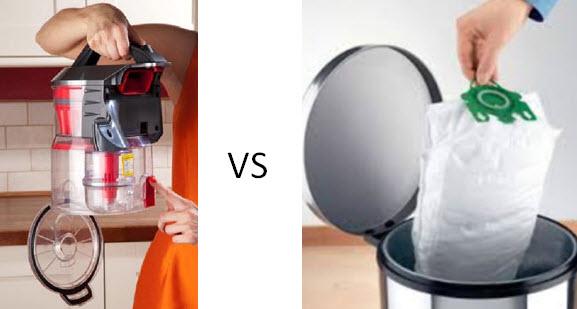 bagged vs bagless