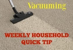 quick vacuuming tips