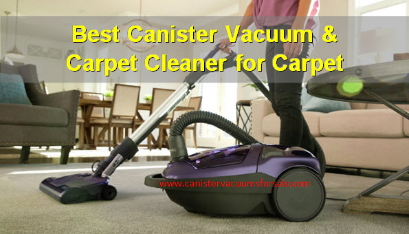 Top Canister Vacuum And Portable Spot Cleaners For Carpet