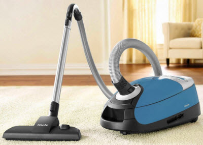 5. Miele Complete C2 Hard Floor Canister Vacuum
