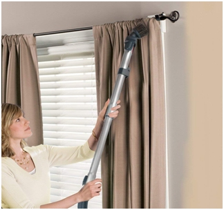 cleaning not washable curtains