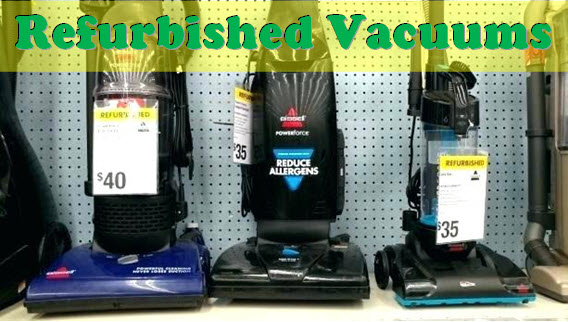 refurbished vacuums