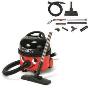 "NaceCare ""Henry"" HVR 200 Canister Vacuum"