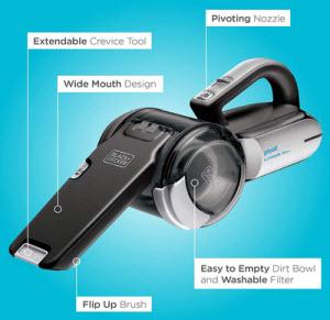 Black + Decker BDH2000PL MAX Pivot Handheld Vacuum