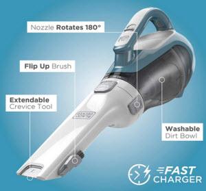 Black + Decker Dustbuster Cordless Vacuum, CHV1410L