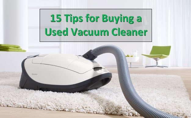 buying used vacuum cleaner