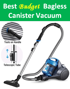 Best Eureka bagless canister vacuum cleaner