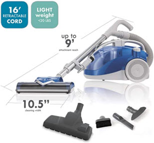 Kenmore 10701 Bagless Compact Canister Vacuum