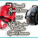 Bissell 3624 vs rug doctor portable carpet cleaners