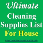 The Ultimate Cleaning Supplies List for House